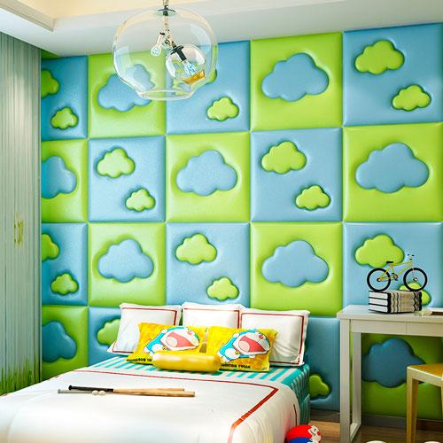 Оформление стен в детской комнате фото 1