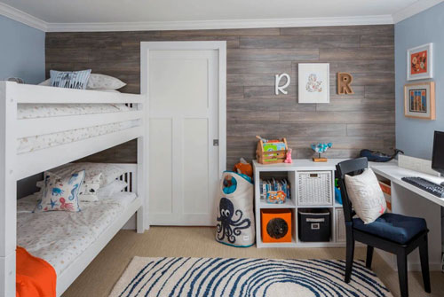 Оформление стен в детской комнате фото 5