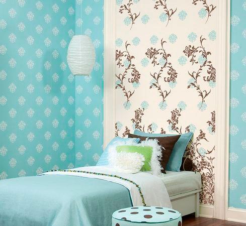 как уютно оформить стены в комнате ребенка 4
