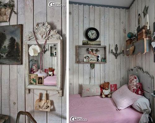 как уютно оформить стены в комнате ребенка 3