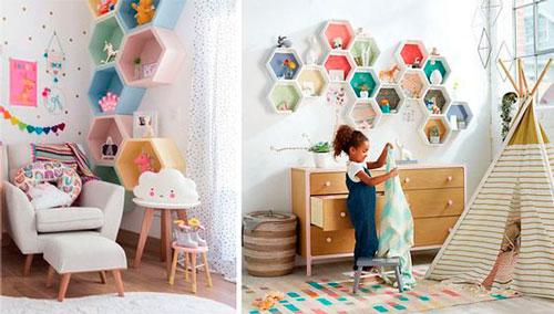 оформление стен в детской для мальчика 10