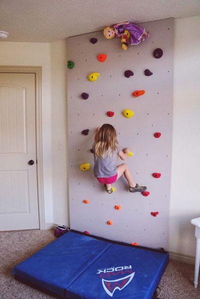 стены в детской с оригинальным оформлением 5