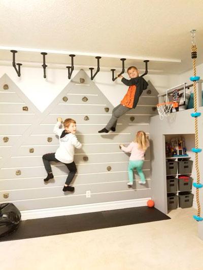 стены в детской с оригинальным оформлением 4