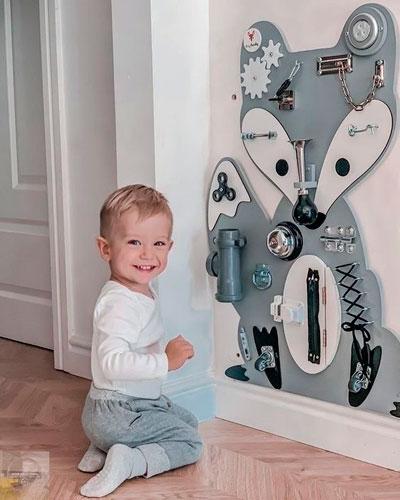 как правильно оформить стены в детской комнате 10