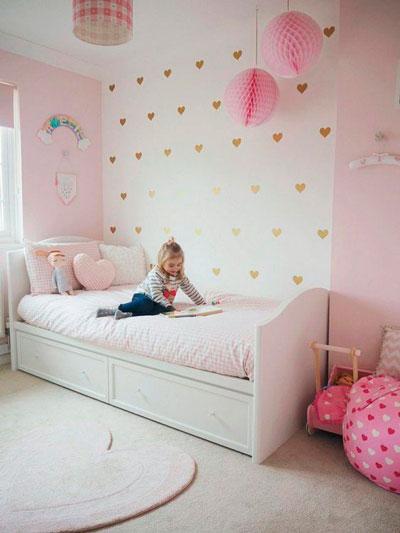 как правильно оформить стены в детской комнате 2