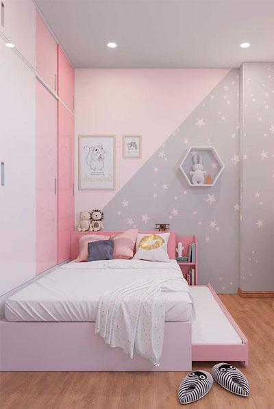 как правильно оформить стены в детской комнате