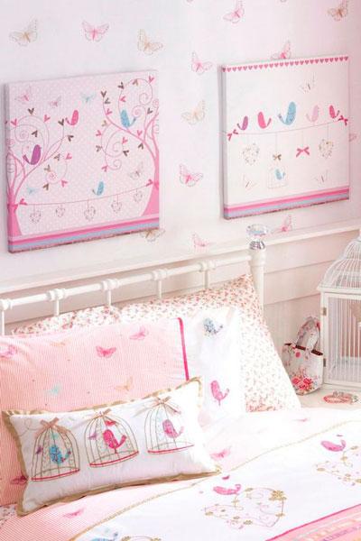 стены в детской с красивым оформлением 4