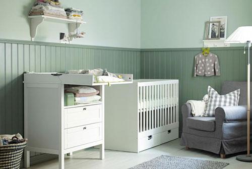 организация детской комнаты для новорожденного