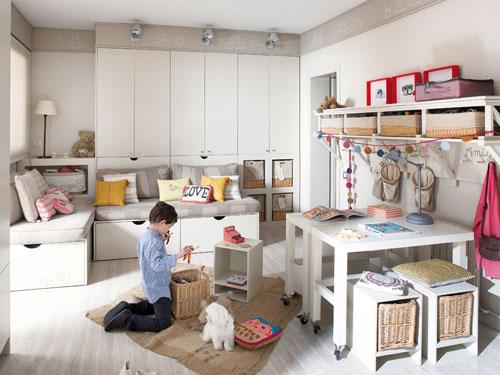 организация детской комнаты в квартире