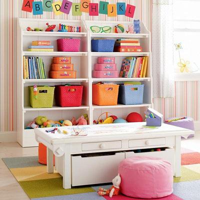 организация детской комнаты для двоих