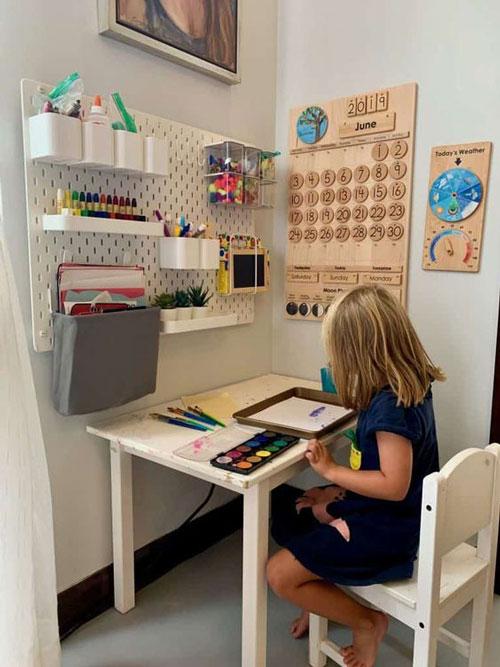 как организовать порядок в детской комнате