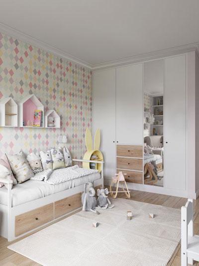 как правильно организовать детскую комнату для девочки