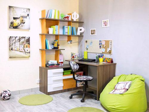 организация детской комнаты школьника