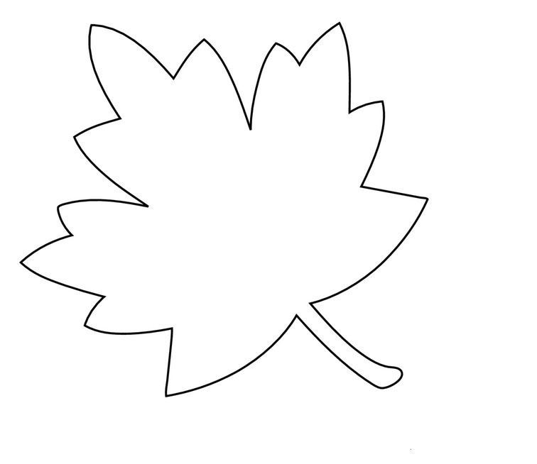 осенние листья из бумаги для оформления 3