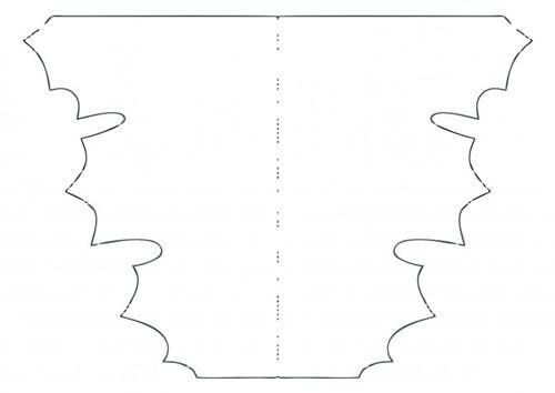 осенние листья из бумаги для оформления 9