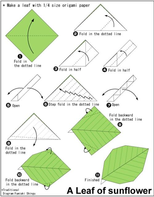 осенние листья из бумаги для оформления 11