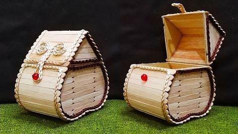 поделки из деревянных палочек от мороженого 5