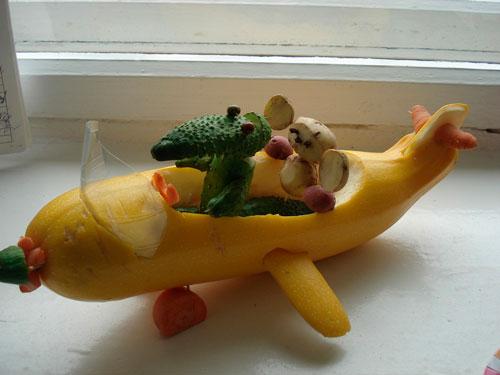 поделка овощи детям