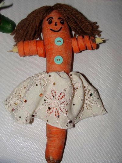 детские поделки на тему овощи