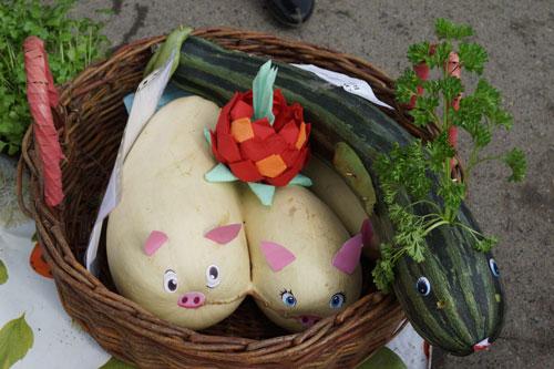 поделки из овощей и фруктов своими руками в детский сад