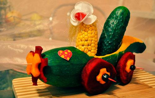 Поделки из овощей своими руками в детский сад