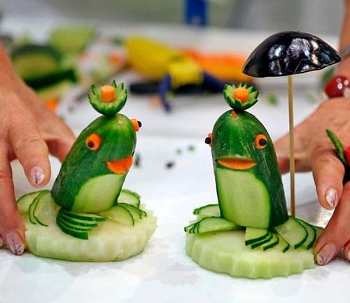 Поделки из овощей своими руками в школу