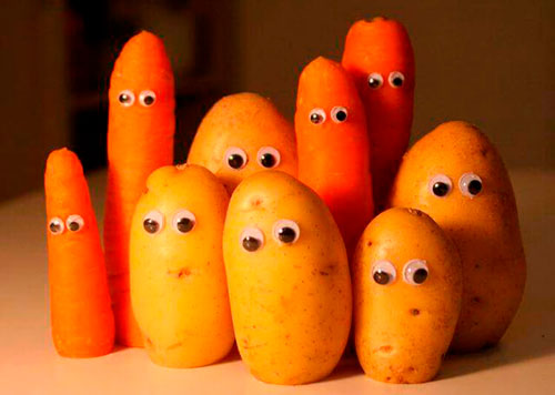 Поделки из овощей своими руками в школу 6