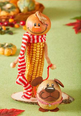 какую простую поделку сделать из овощей в детский садик 5
