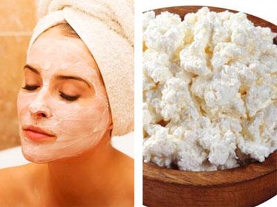 Рецепт маски для сухой кожи лица с творогом
