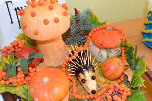 детские поделки овощи и фрукты