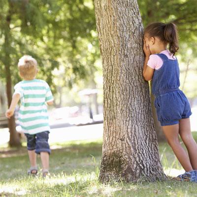 игра прятки на улице для детей