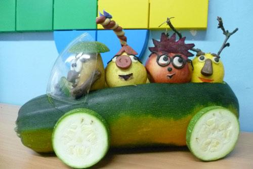 выставка поделки своими руками из овощей 2