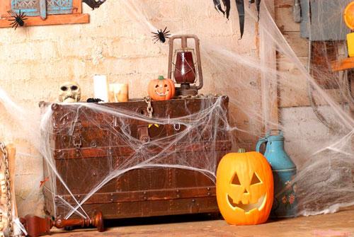 самые необычные украшения для дома на Хэллоуин 10