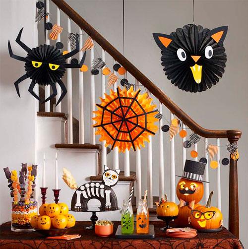 самые необычные украшения для дома на Хэллоуин 9