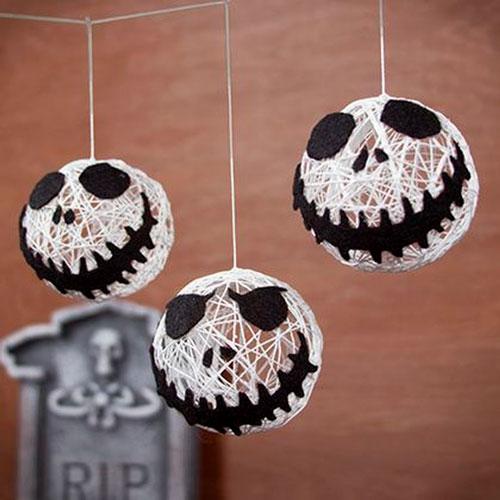 самые необычные украшения для дома на Хэллоуин 8