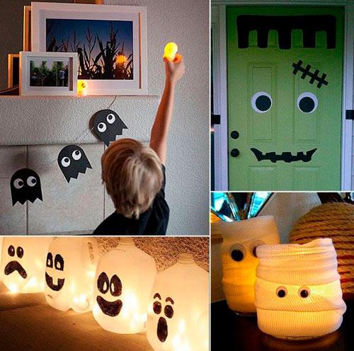 самые необычные украшения для дома на Хэллоуин 6