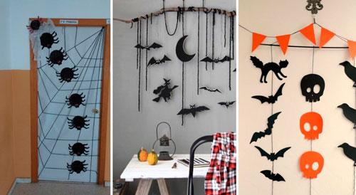 самые необычные украшения для дома на Хэллоуин 4