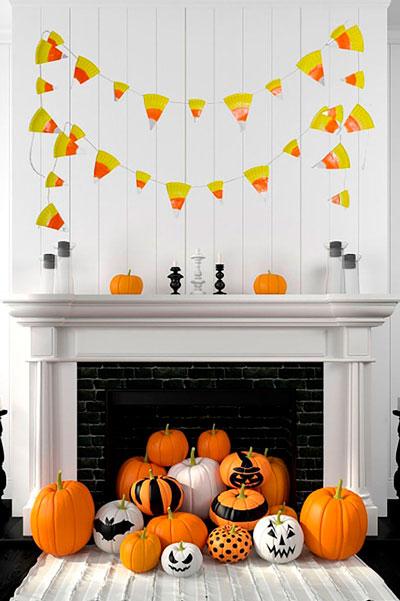 как сделать украшения на хэллоуин 7
