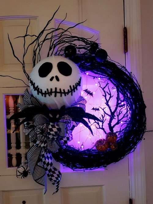 как сделать украшения на хэллоуин 5