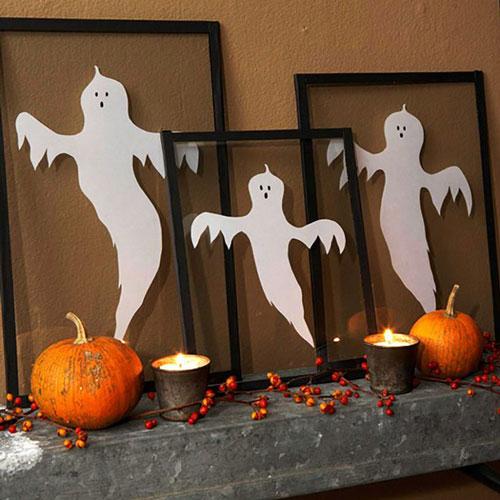 как сделать украшения на хэллоуин 2