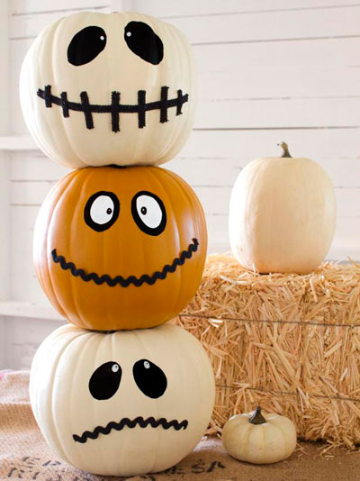 как сделать украшения на хэллоуин