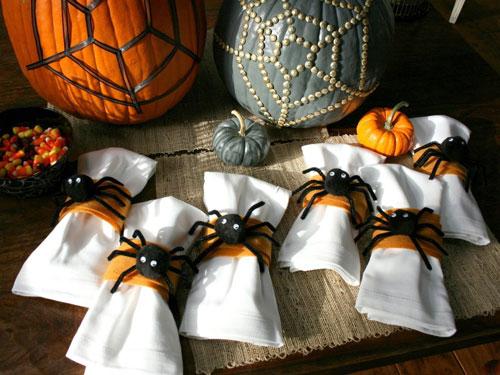 украшение комнаты на Хэллоуин своими руками 9