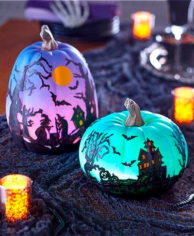 украшение комнаты на Хэллоуин своими руками 8