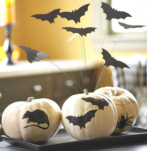 украшение комнаты на Хэллоуин своими руками 6