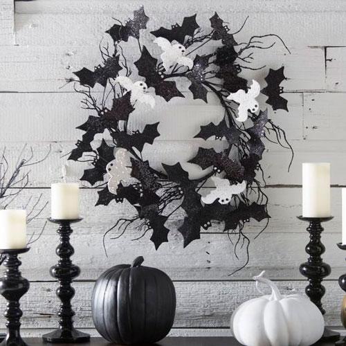 украшение комнаты на Хэллоуин своими руками 4