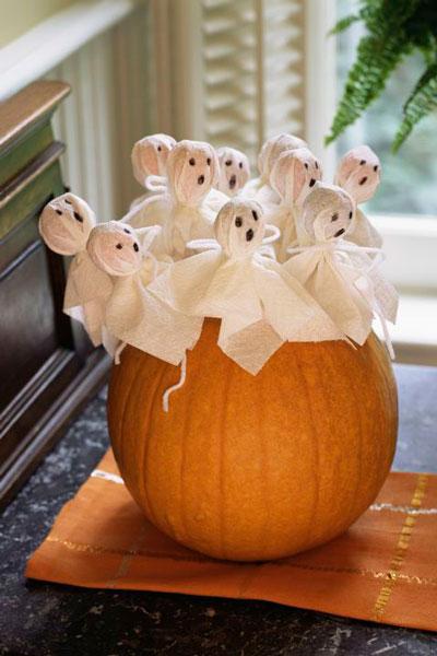 украшение комнаты на Хэллоуин своими руками