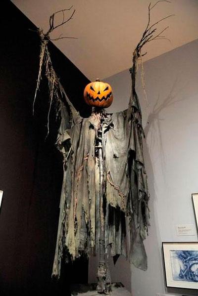 украшение дома на Хэллоуин своими руками 9