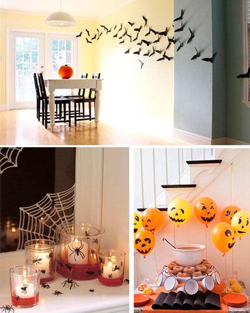 украшение дома на Хэллоуин своими руками 4
