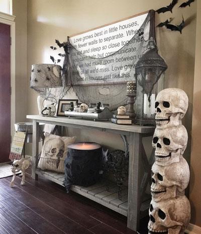 декор на Хэллоуин своими руками 3