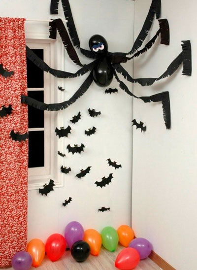 украшение квартиры на Хэллоуин своими руками 5